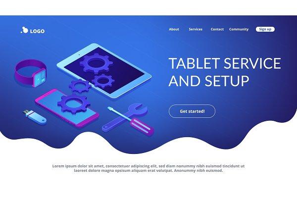 Mobile device repair concept
