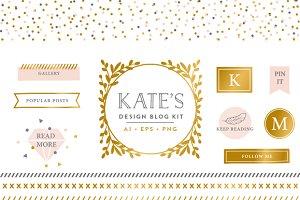 Confetti Branding Blog Kit
