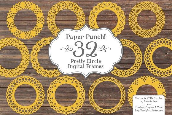 Sunshine Yellow Lace Frames
