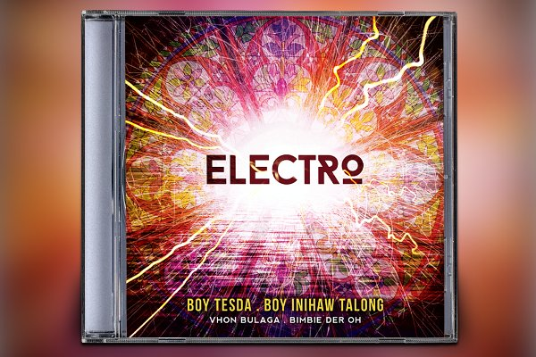 Electro CD Album Artwork