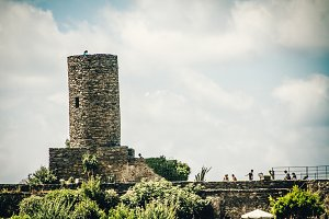 Italian Stone Tower Structure