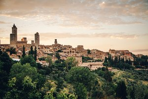 Italian City on a Hill