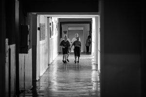 Hallway in Moldova