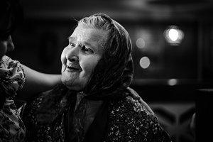 Elderly Woman in Moldova