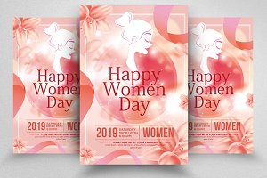 Women's Day Special Flyer Templates