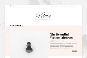 Feminine Blog WordPress Theme