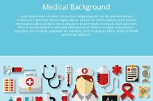 Health care and medical background