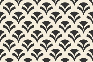Repeating geometric seamless pattern