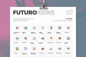 Futuro Next Icons / Future Pack