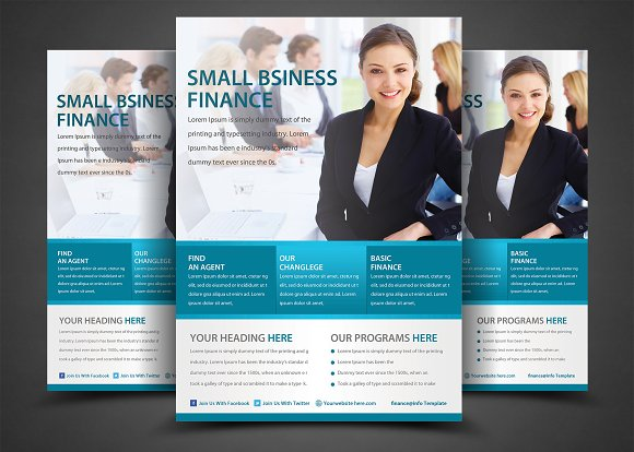 multipurpose business flyers templat flyer templates creative market