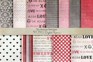 XOXO Digital Papers