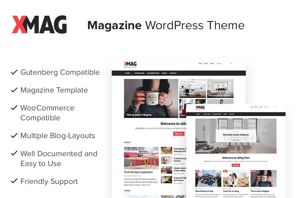xMag Plus - Magazine WordPress Theme