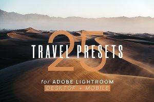25 Travel Presets for Lightroom