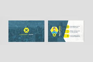 Personal, Business Presentation Card