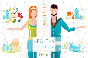 Infographics: Healthy Lifestyle