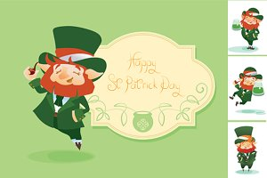 Greeting Postcard For St.Patrick Day