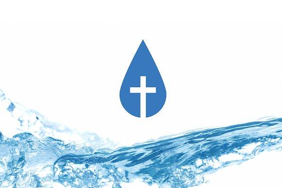 Water Droplet Logo Templates Creative Market