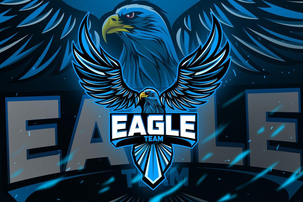 INDI Eagle Esport Logo