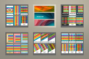 Set cover background of color square