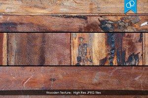 3 Dark Brown Wooden Texture