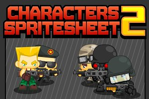 Characters Spritesheet