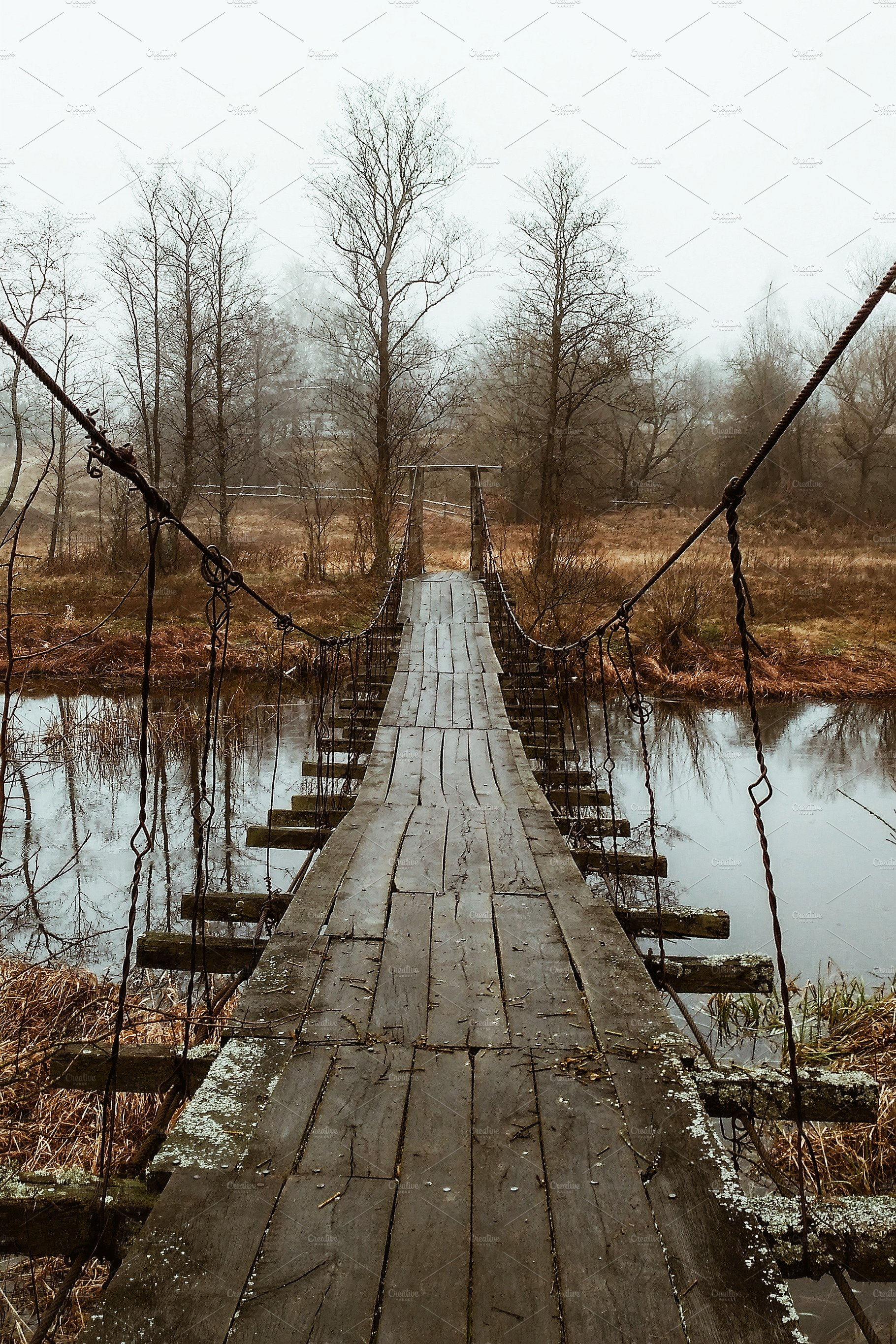 Old wooden bridge overpass | High-Quality Nature Stock ...