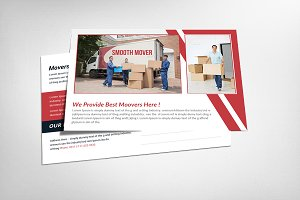 moving company flyer templates flyer templates on creative market. Black Bedroom Furniture Sets. Home Design Ideas