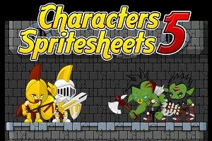 Characters Spritesheet 5