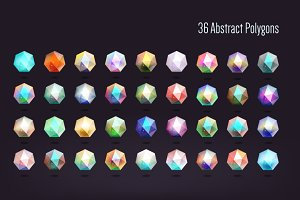 36 Polygonal shapes