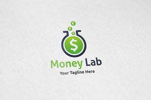 Money Lab - Logo Template
