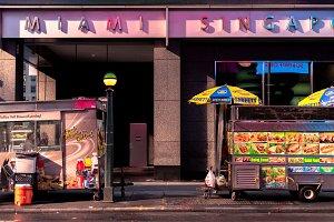 Street food in Manhattan