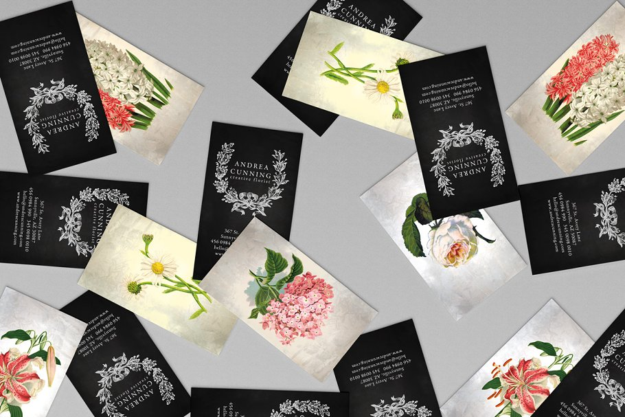 Oh Flower Business Card - PSD