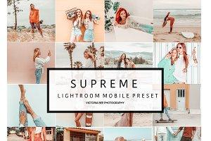 5 Mobile Lightroom presets SUPREME