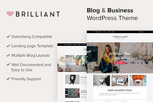 Brilliant Plus WordPress Theme