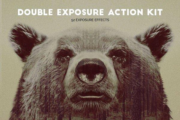 Double Exposure Action Kit