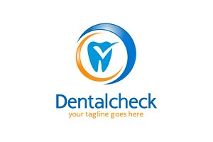 Dental Check Logo