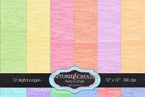 Pretty In Chalk 12 Paper Pack