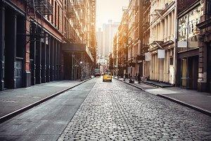 New York City Manhattan SoHo street
