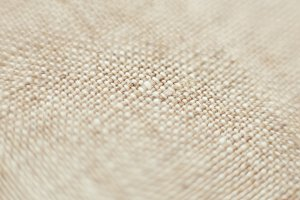 Linen fabric macro