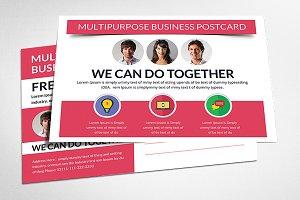 Corporate Postcard Print Templates