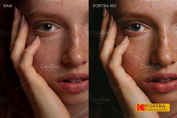 KODAK PORTRA preset Lightroom