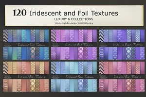 Iridescent and Foil 120 Textures