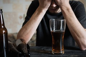 Alcoholism and depression . The conc