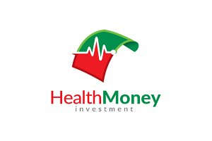 Health Money Logo/ investment Logo