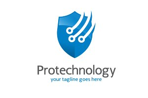 Protect Technology-Security Logo
