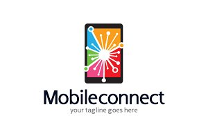 Mobile Connect/Share/Develop Logo
