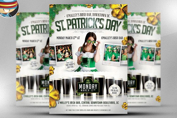 St. Patrick's Day Flyer Template 2 - Flyers