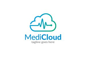 Medic Cloud Logo Template