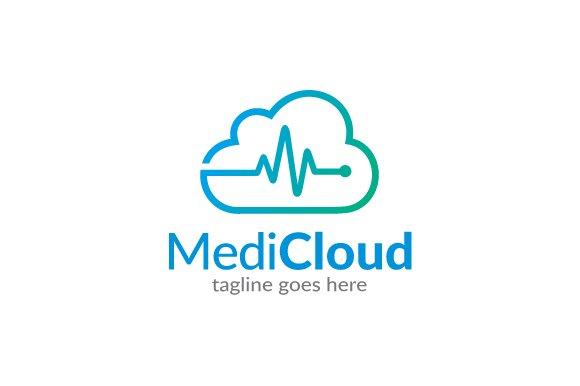 medic cloud logo template logo templates creative market