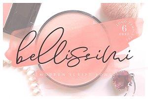 Bellissimi + 6 Free Logo Templates